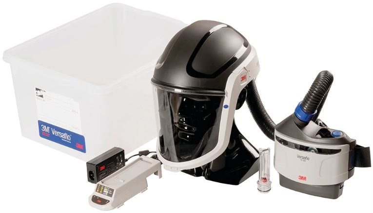 PAPR (Powered, Air-Purifying Respirator)