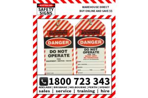Inspection and Certification Tags
