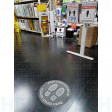 Keep Your Distance Social & Physical Distancing Anti Slip Floor Sign 400mm Poly (5911FG)
