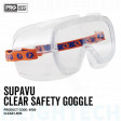 SUPA-VU Clear Medium Impact Goggle