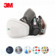 3M Medical & Industry Medium 6200 Half Face Respirator inc P2 & organic vapor filter