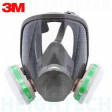 SMALL 3M Full Face Mask Reusable Respirator 6700 Respiratory Protection, Mask Only . Filters NOT included.