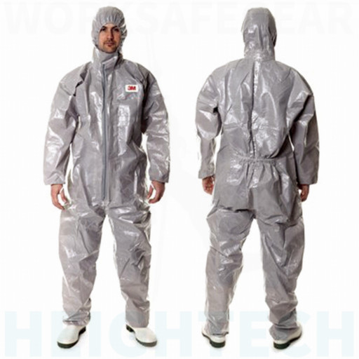 Large Protective Coverall Grey 3M (4570)