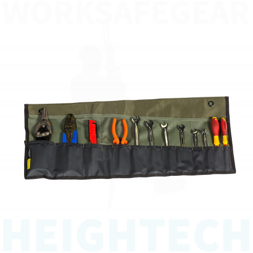 Rugged Xtremes Compact Canvas Tool Roll (RX03B001)