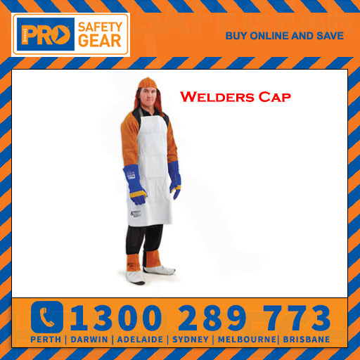 ProChoice Welders Cap with Nape Chrome Leather (WC)