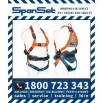 SpanSet 1100 MINERS ERGO Full Body Height Safety Harness
