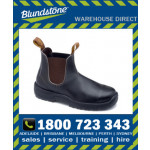 Blundstone Style 172 Stout Brown Premium Oil Tanned Leather Elastic Side Safety Boot
