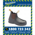 Blundstone Style 311 Brown Waxy Leather Elastic Side Safety Boot