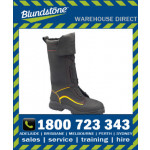 Blundstone Style 980 Black WATERPROOF Safety Mining Xfoot Rubber Safety Boot