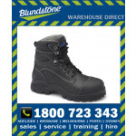 Blundstone Style 991 Black Water Resistant Upper Xfoot Rubber Safety Boot
