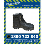 Blundstone Style 997 Black LaceUp-ZipUp Water Resistant Xfoot Rubber Safety Boot