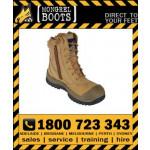 Mongrel Boot 451050 Wheat High Leg ZipSider Safety Work Boot Victor Footwear