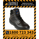 Mongrel Claret Lace Up Boot Safety Work Boot Victor Footwear Shoe (260030)