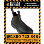 Mongrel Oil Kip Elastic Sided Boot Safety Work Boot Victor Footwear Shoe (240030)