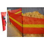 Barrier Roll Zone Demarcation Barrier Mesh