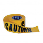 "ProChoice ""CAUTION"" on Yellow Hazard Tape 100m x 75mm (CT10075)"