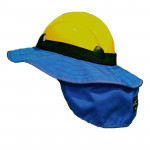 Tufftec Royal Blue Sunshade Brim for Vertex Helmets (H810-SBR001)