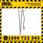 Petzl Progress Adjust Adjustable Progression Lanyard Cowtails (L44R)