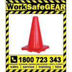 Orange Hi Vis Traffic Cones 300mm, 450mm or 700mm