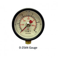 Hydrajaws Medium Duty Analogue Gauge 25kN (MDG025)