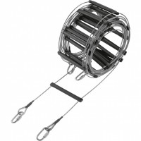 Caving Rescue Ladder Safety 15m Wire Cable aluminium