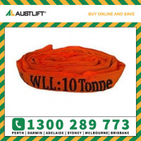 10 Tonne Round Slings (Orange) 3m - 10m Lengths