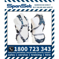 Spanset 1100 Ergo iPLUS Full Body Height Safety Harness