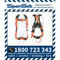 Spanset 1100 ERGO ToughWorks PVC Full Body Height Safety Harness Tough Works
