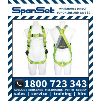 Spanset 1100 WaterWorks ERGO Full Body Height Safety Harness Water Works