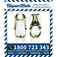 Spanset 1100 WaterWorks Premium ERGO Full Body Height Safety Harness Water Works