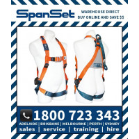 SpanSet 1104 Ergo Full Body Height Safety Harness