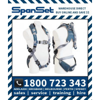 Spanset 1104 Ergo iPLUS Full Body Height Safety Harness