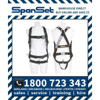 Spanset 1300 ERGO HotWorks Fully Body Height Safety Harness Hot Works