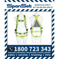 Spanset 1300 WaterWorks ERGO Full Body Height Safety Harness Water Works