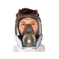 Small 3M P3 Full Face Respirator Mask 6700 + 2138 Filters