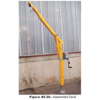 Davit Rescue Arm Hoist Crane Heavy Duty 15kN