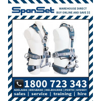 Spanset 1800 Ergo iPLUS Full Body Height Safety Harness