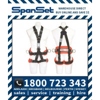 Spanset 1800 ERGO HotWorks Fully Body Height Safety Harness Hot Works