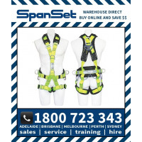 Spanset 1800 WaterWorks ERGO Full Body Height Safety Harness Water Works