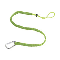 ERGODYNE SQUIDS 3100EXT EXTENDED SINGLE CARABINER, 4.5KG - LIME (19013)
