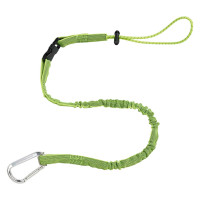 ERGODYNE SQUIDS 3102EXT DETACHABLE EXT SINGLE CARABINER, 2.2KG - LIME (19075)