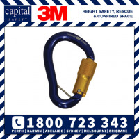 Triple Action 16kN 18mm Aluminium Karabiner