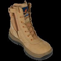 Mongrel Wheat High Leg Zipsider Boot Steel Cap (251050)