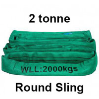 2 Tonne Round Slings (Green) Auslift, Beaver, Spanset
