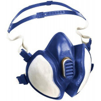 3M Disposable Half Face Respirator - OV/AG Particulate A1B1E1P2 (4277)