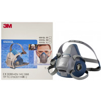 3M Rugged Comfort Half Facepiece Respirator Quick Latch