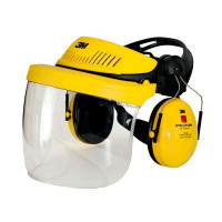 3M Yellow Headgear Combination Industrial Polycarbonate