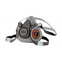 3M Medium Medical & Industry Standard Half Face Respirator (6200)  mask only, filters not included
