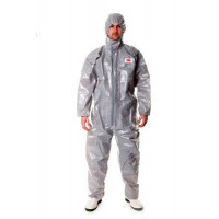 Medium Protective Coverall Grey 3M (4570)