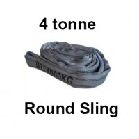 4 Tonne Round Slings (Grey) 1m - 6m Lengths